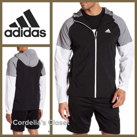 20f67394d3aa   adidas   Colorblock Running Mens Jacket XXL
